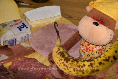Bananenfrühstück für den Tag danach