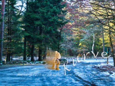 Der letzte Winterlauf vor der Pommestankstelle