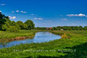 Norddeutscher Fluss