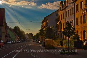 In der Regenbogenbuntenstraße