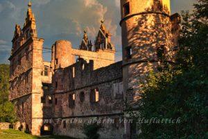Ruine des Jagdschlosses