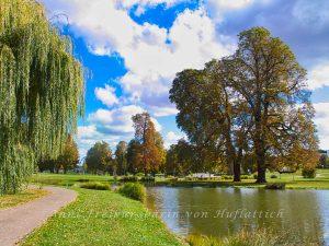 Frühherbstlicher Rosensteinpark