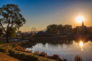 Rosensteinpark mit Aurora aufgebrezelt