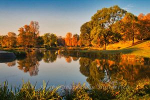 Indian Summer im Rosensteinpark