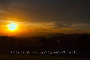 Sonnenaufgang, der Echte