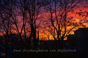 Sonnenuntergang über HH
