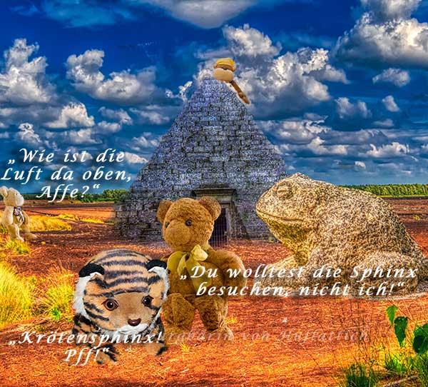 Urlaub im Sphinxland