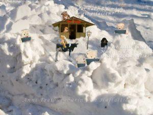 Ziel des Ritts: 22. Dezember, Winteranfang