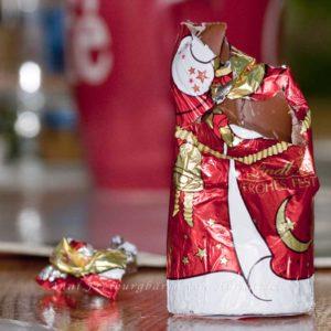 Ein original malträtierter Weihnachtsmann made by Annisekretärin